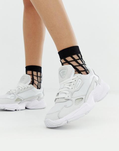 Adidas Originals Triple White Falcon