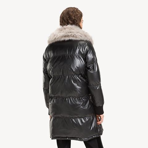 precio de calle diseño elegante detalles para Abrigo Acolchado Metalizado de Tommy Hilfiger en 21 Buttons
