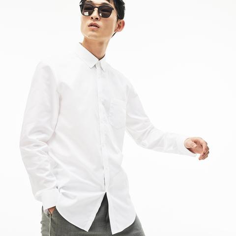 Camisa Hombre En Minipiqué De Algodón de Lacoste en 21 Buttons