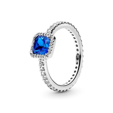 Anillo En Plata De Ley Elegancia Atemporal Azul de Pandora en 21 Buttons
