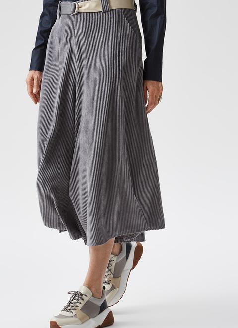 Falda Pantalón De Pana