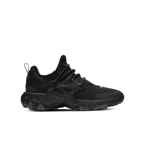 Chaussure Nike React Presto Pour Enfant Plus Âgé - Noir from Nike ...