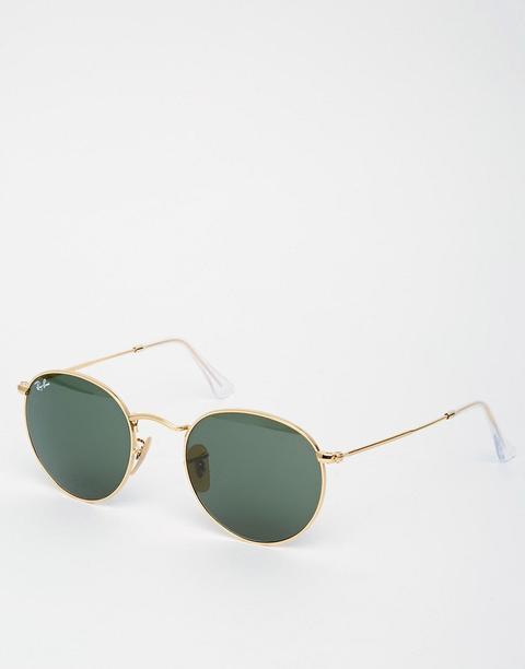 Gafas De Sol Redondas De Metal 0rb3447 De Ray-ban de ASOS en 21 Buttons