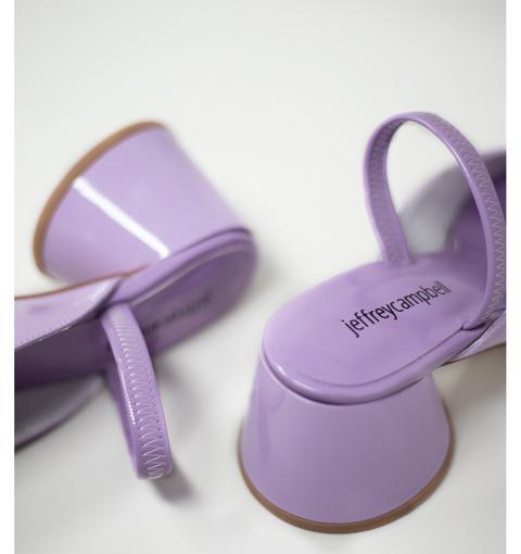 Serra Lilac Patent By Jeffrey Campbell