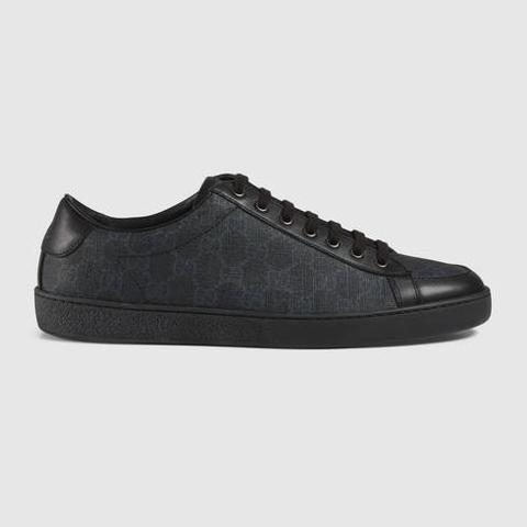 Sneaker Allacciate In Tessuto Gg