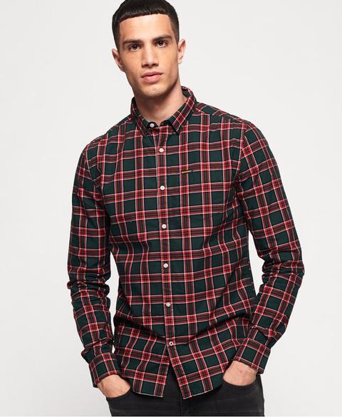 Camisa Raw Oxford de Superdry en 21 Buttons