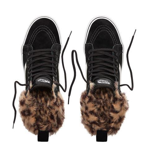 Vans Zapatillas Sk8-hi Mte Con Plataforma ((mte) Black/leopard Fur) Mujer Negro