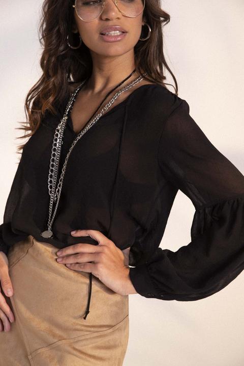 Blusa Con Manica Ampia di I am Stores su 21 Buttons
