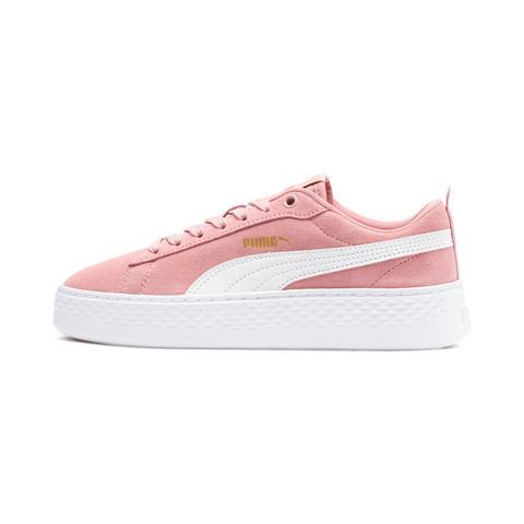 chaussures puma rose femme