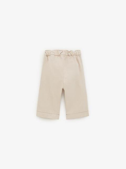più foto 2a365 9bd66 Pantaloni Culotte Fiocco from Zara on 21 Buttons