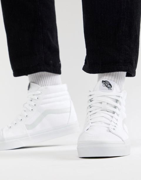 Vans Sk8-hi - Sneakers Bianche Vn000d5iw001 - Bianco de ASOS en 21 Buttons