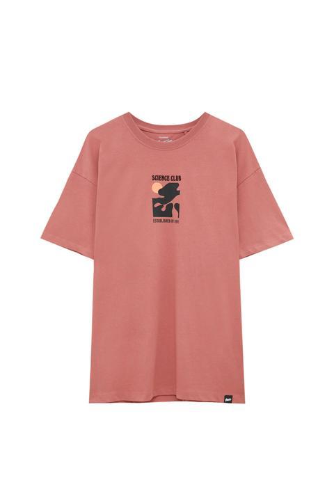 Camiseta Bordado Science Club