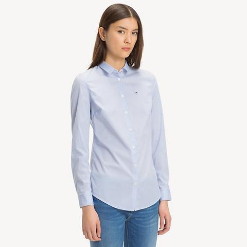 Camisa De Microrrayas de Tommy Hilfiger en 21 Buttons