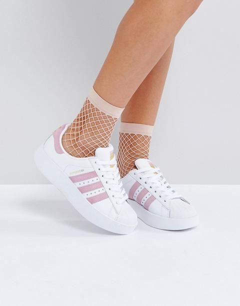 scarpe adidas rosa superstar