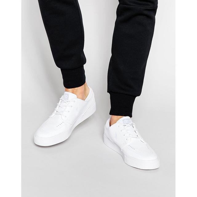 Juguetón mostrar minusválido  Nike Sb - Stefan Janoski - Sneaker Aus Leder In Weiß from ASOS on 21 Buttons