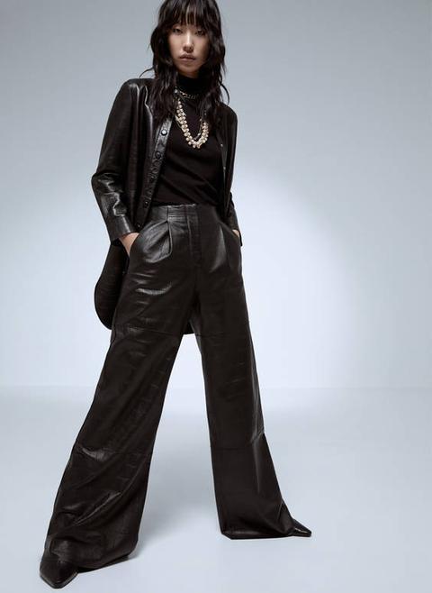 Pantalons Pell Amples de Uterqüe en 21 Buttons