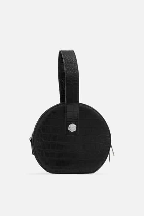 couleurs délicates en vente en ligne nouveau style et luxe **sac Rond Effet Crocodile, Koko Couture - Noir from TopShop on 21 Buttons