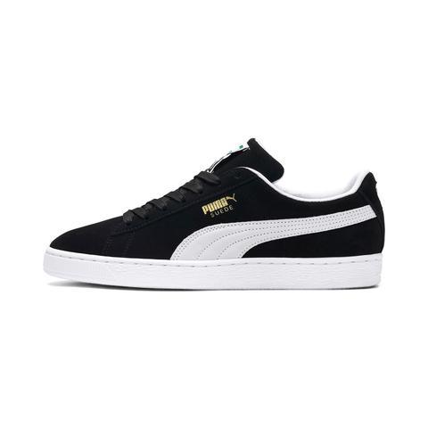 Zapatillas De Hombre Suede Classic, Blanco/negro, Talla 35.5 | Puma Hombres de Puma en 21 Buttons