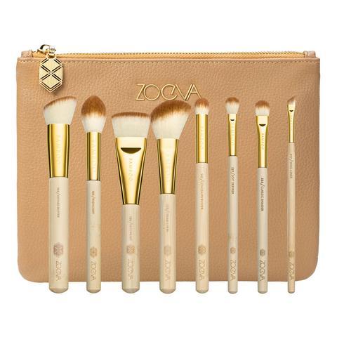 Bamboo Luxury Set Vol. 2 Kit De Brochas Y Pinceles Para Rostro Y Ojos de Sephora en 21 Buttons