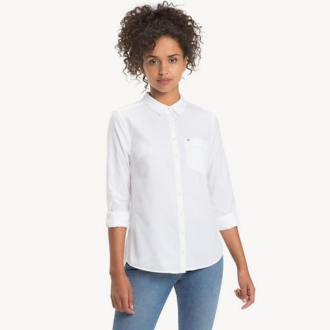 Camisa Oxford De Puro Algodón de Tommy Hilfiger en 21 Buttons