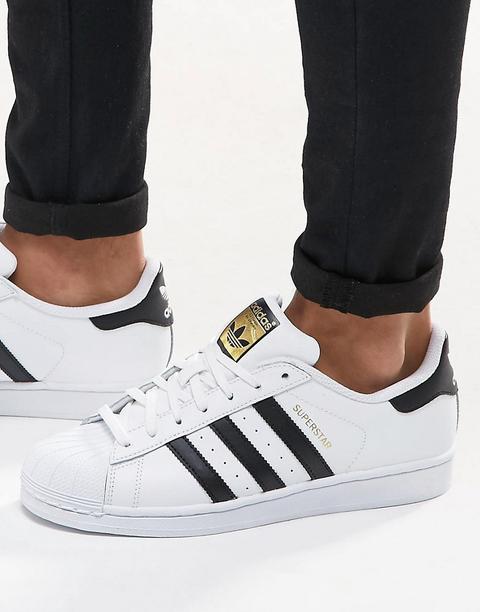 Zapatillas De Deporte Blancas C77124 De Adidas Originals Superstar de ASOS en 21 Buttons