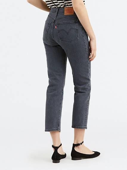 501® Crop Jeans Negro / Dancing In The Dark