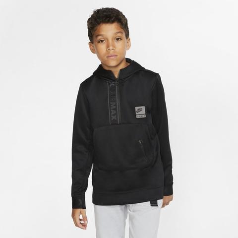 Nike Air Max Older Kids' Half zip Hoodie Black from Nike on 21 Buttons