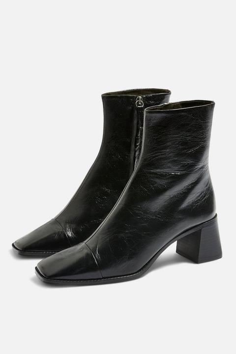 Muriel Mid Heel Boots de Topshop en 21 Buttons