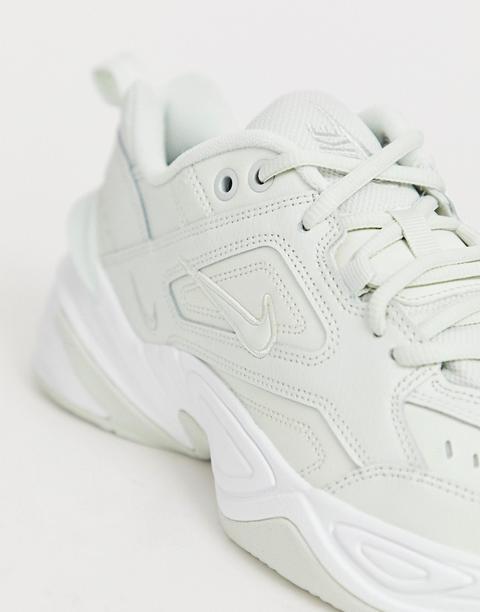 Nike M2k Tekno Trainers In Retro White