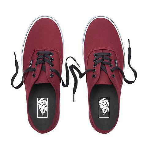 Vans Zapatillas Authentic (port Royale/black) Mujer Rojo