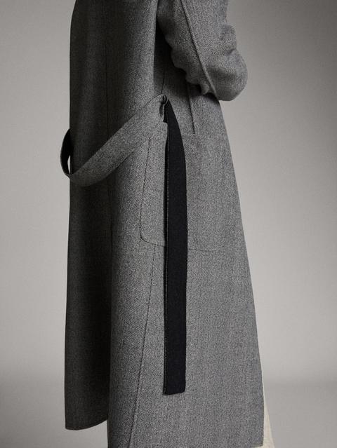 Abrigo Handmade Reversible Espiga