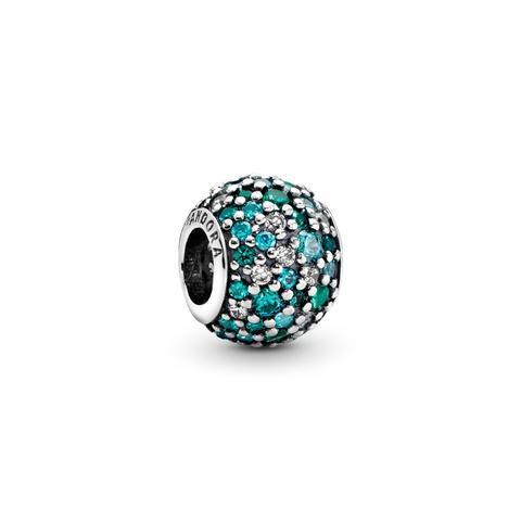 Charm Pavé Mosaico Del Océano de Pandora en 21 Buttons