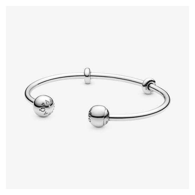 Bracelet Jonc Ouvert Pandora Moments from Pandora on 21 Buttons