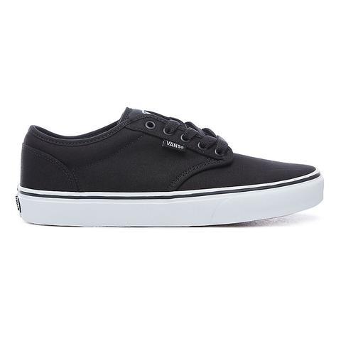 vans shoes black and white for men