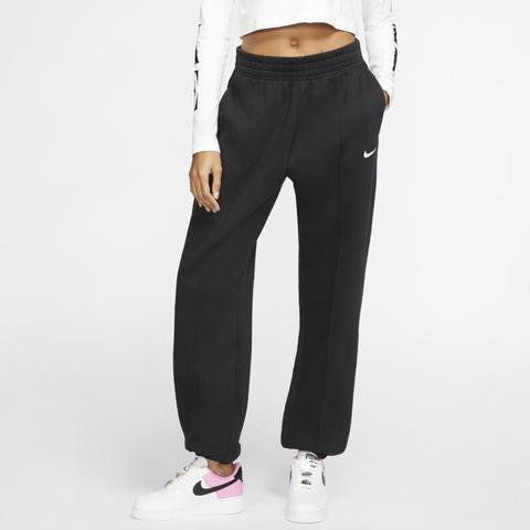 Nike Sportswear Essential Pantalón De Tejido Fleece - Mujer - Negro