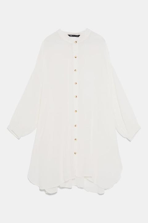 Camisa Oversize Rústica