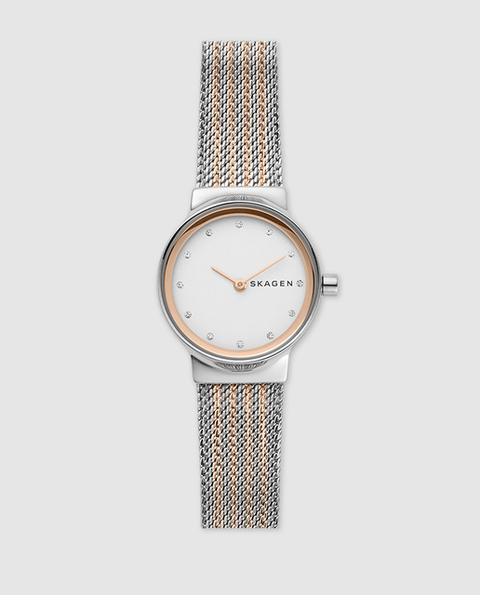 Skagen - Reloj De Mujer Freja Skw2699 De Malla De Acero de El Corte Ingles en 21 Buttons