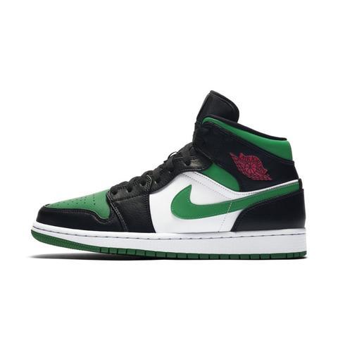 Air Jordan 1 Mid Zapatillas - Negro de Nike en 21 Buttons