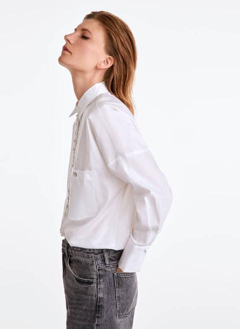 Camisa Brillantes de Uterqüe en 21 Buttons