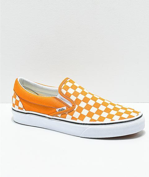 White Checkerboard Skate Shoes | Zumiez