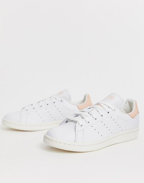 Adidas Originals - Stan Smith - Sneakers Bianche E Rosa - Bianco