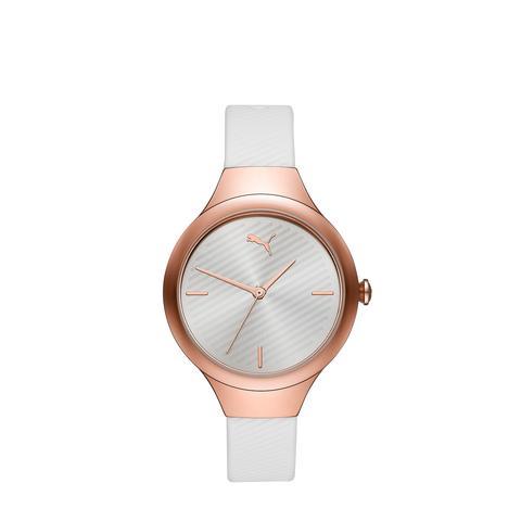 Reloj Muy Fino De Mujer Contour, Oro/rosado/blanco   Puma Mujeres de Puma en 21 Buttons