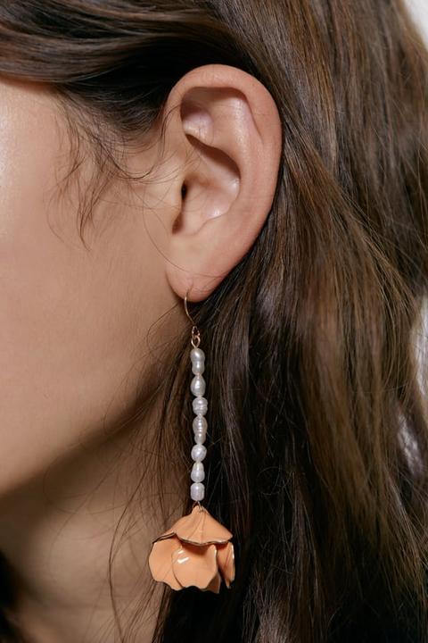 anello pandora perla fiore