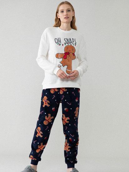 Conjunto De Pijama Galleta De Jengibre