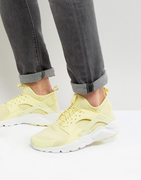 huarache zapatillas amarillas