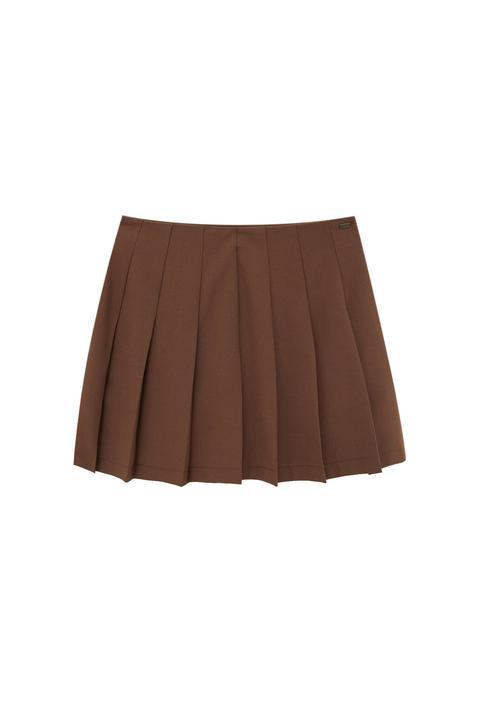 Minifalda Básica Tablas