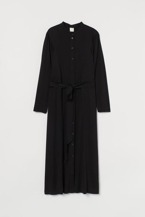 Vestido Midi - Negro