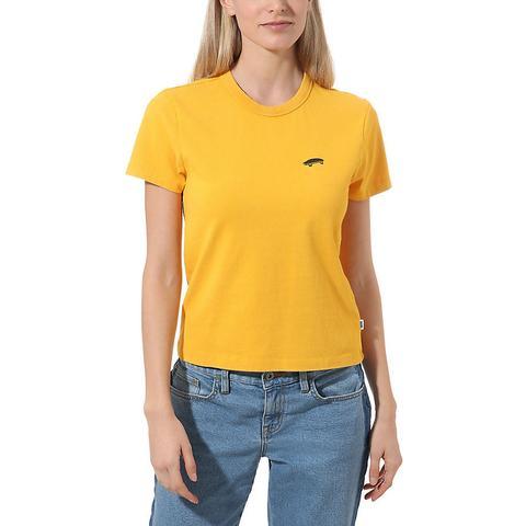 2vans amarillo mujer