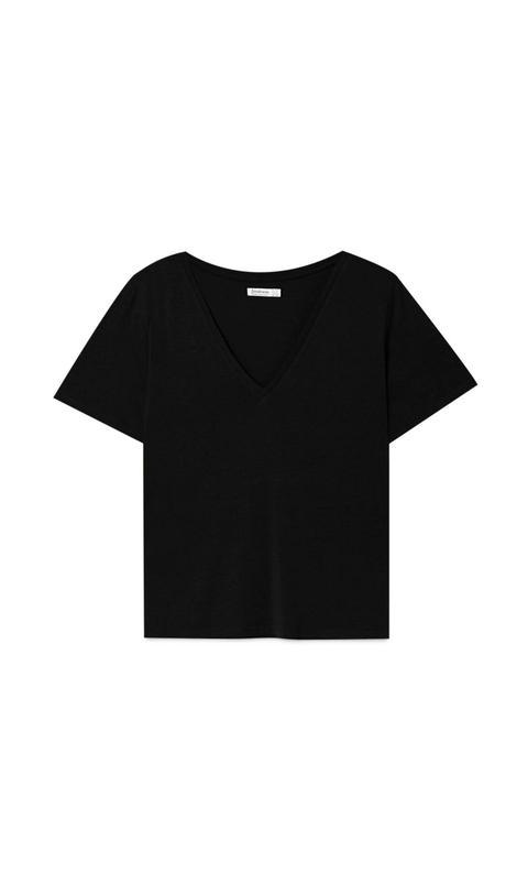 Pack 2 Camisetas Básicas Cuello Pico