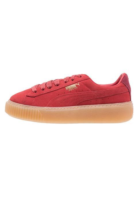 Puma Platform Zapatillas Red de Zalando en 21 Buttons